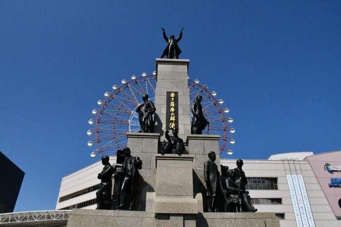 鹿児島×ぽっちゃり待ち合わせスポット⑤:若き薩摩の群像