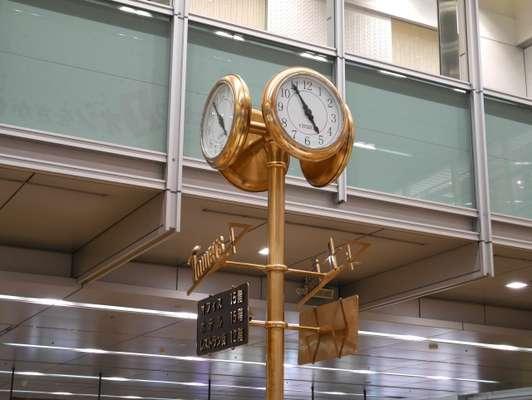 愛知×ぽっちゃり待ち合わせスポット③:金時計